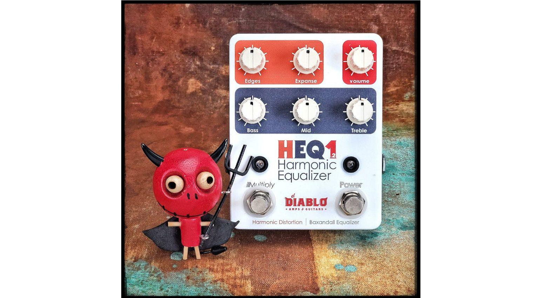 El Diablo HEQ12 harmonix eq pedal effekt