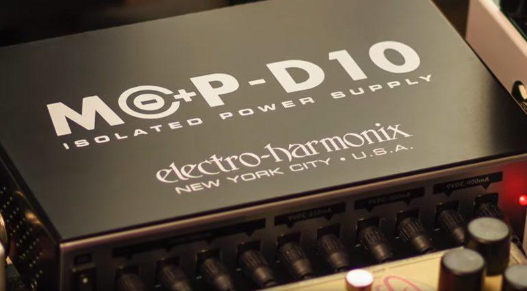 Electro Harmonix WHX Mop-d10 Netzteil Power supply teaser