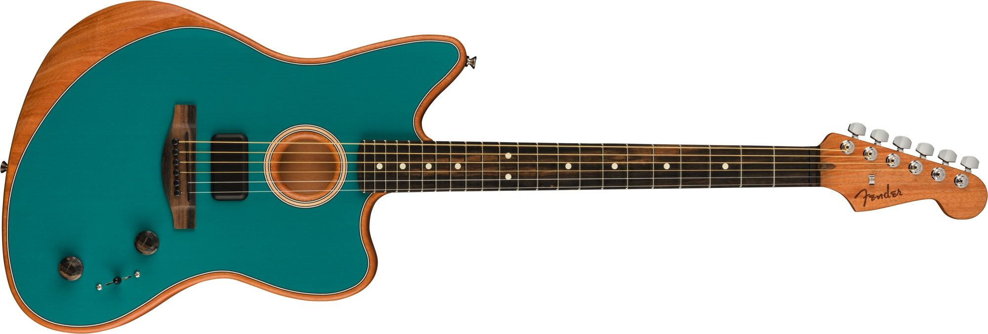 Fender Acoustasonic Jazzmaster in Ocean Turquoise
