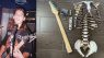 Filip Skelecaster Uncle Knochen Bones E-Gitarre