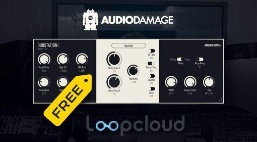 Kostenlos: Loopcloud testen und Audio Damage Dubstation 2 abstauben!