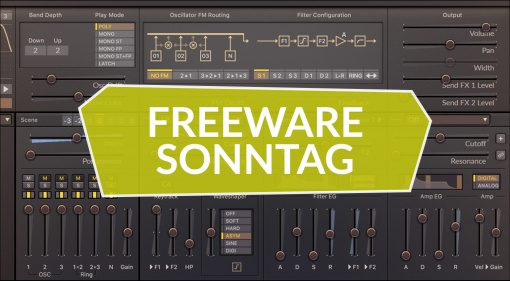 Freeware Sonntag: Surge, Basic Filters und Tiny Dist