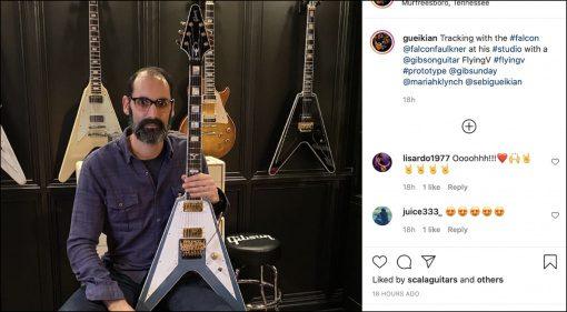 Gibson CMP Richie Faulkner Flying V Teaser 2