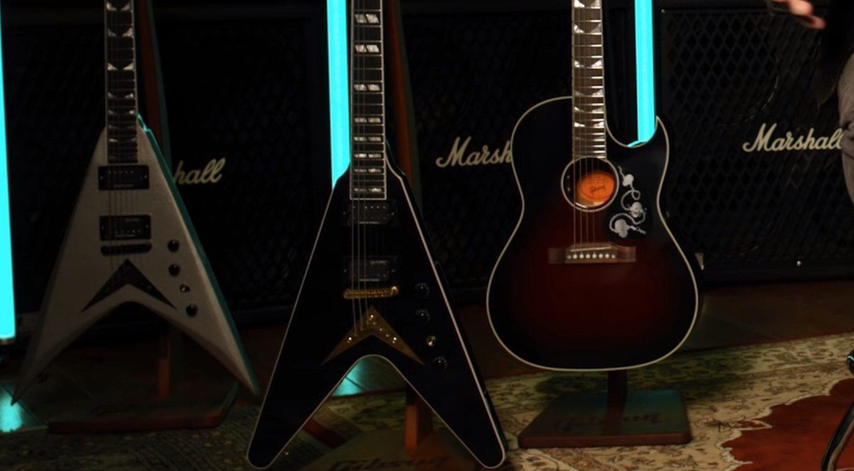 Gibson Epiphone Kramer Dave Mustaine Signature Bodies