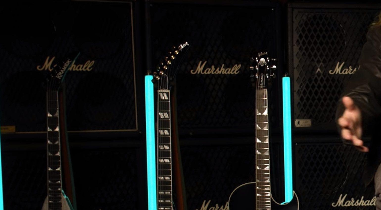 Gibson Epiphone Kramer Dave Mustaine Signature Headstocks