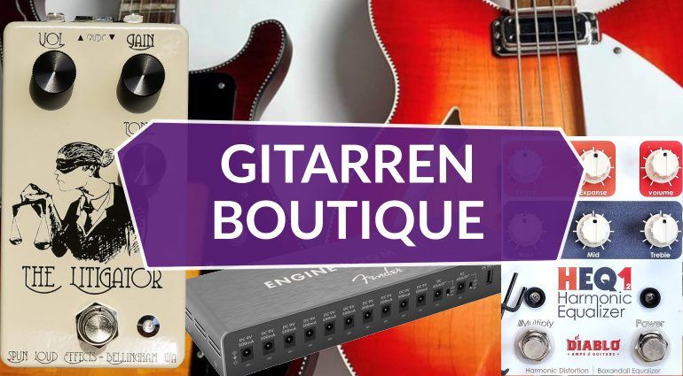 Gitarrenboutique Rickenbacker Fender Spun Diablo Teaser