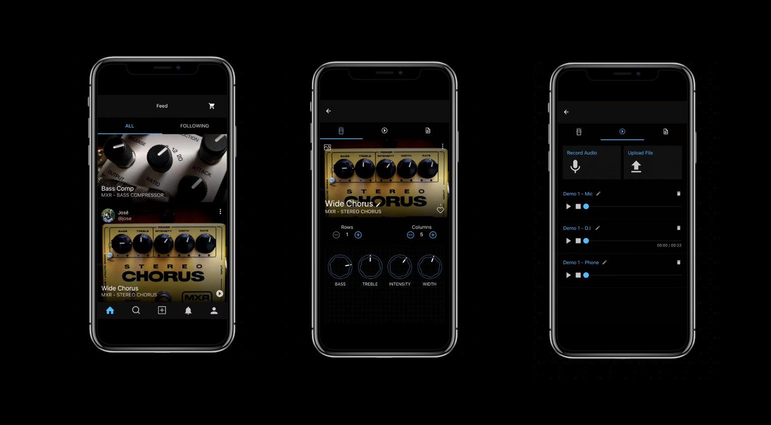 KnobsAI Effekt Pedal Scan App iOS Android Smartphone iphone cloud recording