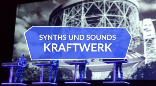 Kraftwerk Synths und Sounds