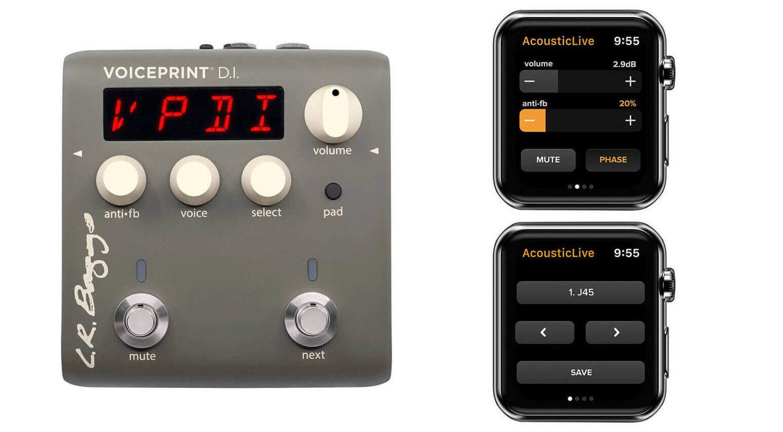 LR Baggs Voiceprint DI Controller Apple Watch App WatchOS