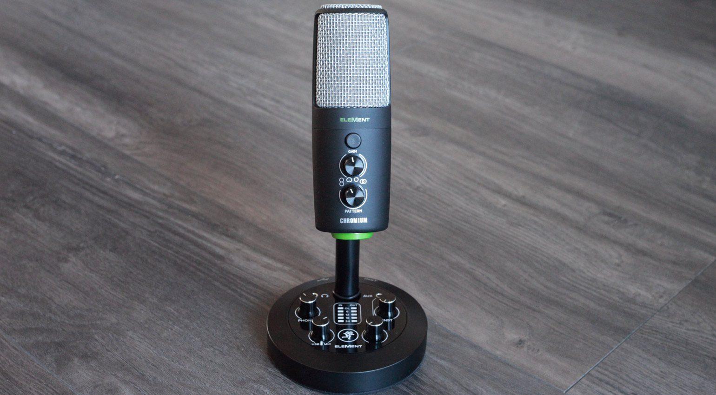 Kombiniert USB-Mikro mit zusätzlichen Eingängen und Mixer: Mackie EM-Chromium