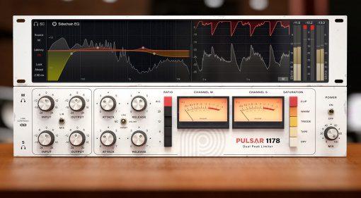 Pulsar Audio 1178: Schon wieder ein 1176 Plug-in-Klon? Nein das ist mehr!