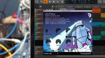 Puremagnetik Antoka: ein musikalischer Bitcrusher im Roboter-Look