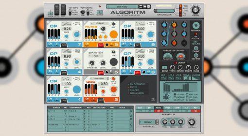 Reason Studios Algoritm FM Synthesizer bringt die 80er zurück