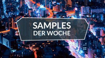 Samples der Woche: Interstellar Waterphone, LoFi Lounge, Signals Blue, No Hollyw**d Drums
