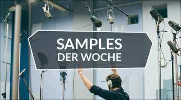 Samples der Woche: Abbey Road One, Bass Ray5, Low Winds, 606 Clones