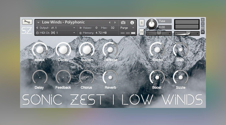 Sonic Zest Low Winds