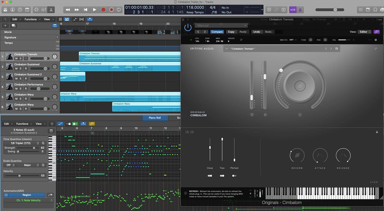 Spitfire Audio Originals Cimbalom