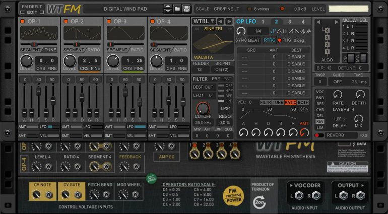 Turn2on WTFM: Ein moderner Wavetable FM Synthesizer für Reason