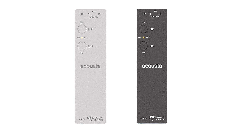 Acousta LE03 gibt es in zwei Farbvarianten