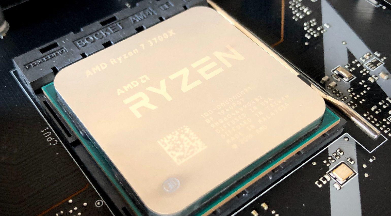 AMD Ryzen CPU Close