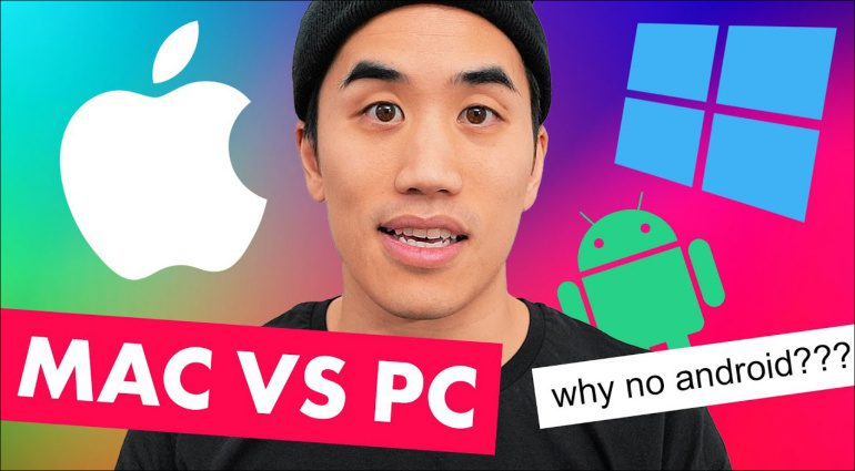 Andrew Huang ist Apple Fan!