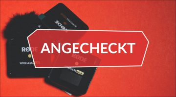 Angecheckt Rode Wireless GO 2