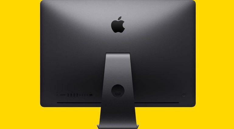Apple iMac Pro wird eingestellt und Kontaktlinsen als Bildschirme?