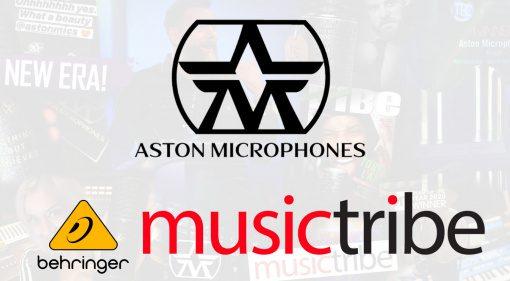 Aston Berhinger Music Tribe Uebernahme