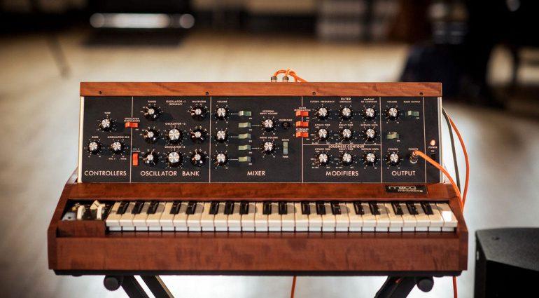 Bob Moog Foundation Minimoog Model D Raffle
