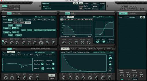 Deal: KV331 Audio SynthMaster Plug-in Synthesizer für 30 $