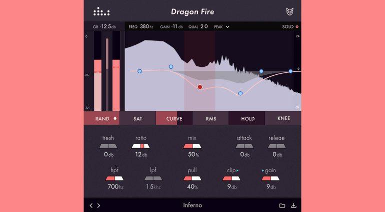 Denise Dragon Fire: Ein DIY-Kompressor-Plug-in mit Charakter