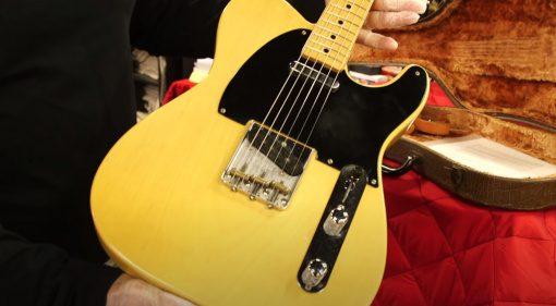 Die erste Fender Telecaster Front