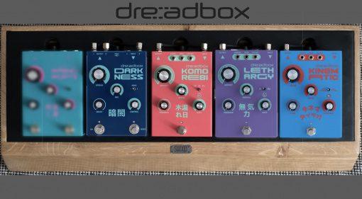 Dreadbox - 3 neue Effekte