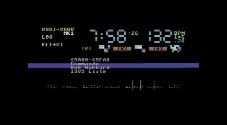 DS/DJ-2000 mk1 Alpha im VICE Emulator