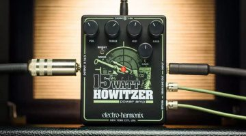 Electro Harmonix Howitzer Amp Pedal Preamp Endstufe Teaser