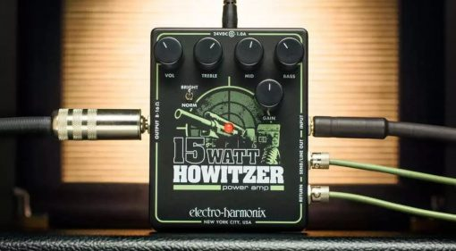 Electro Harmonix Howitzer Amp Pedal Preamp Endstufe Teaser