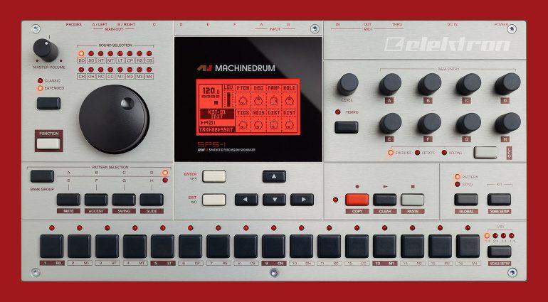Elektron Machinedrum Firmware-Update