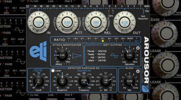 Empirical Labs bringt überarbeiteten Arousor V3 Plug-in Kompressor