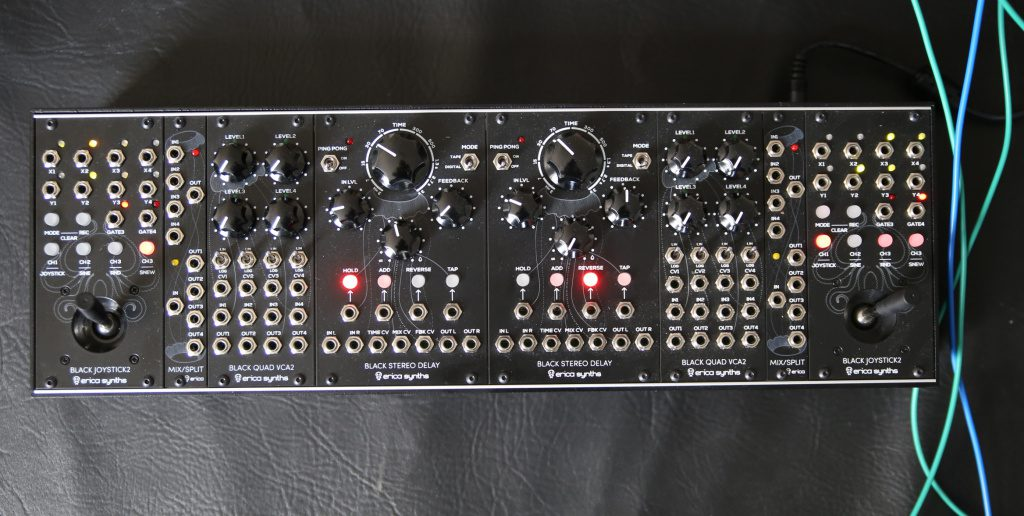 Erica Synth Dada Noise System Quad Surround Panner