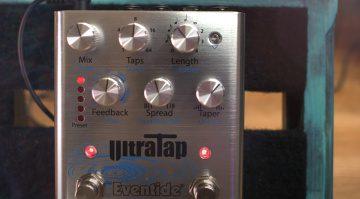 Eventide UltraTap Multitap Delay Effekt Pedal Teaser