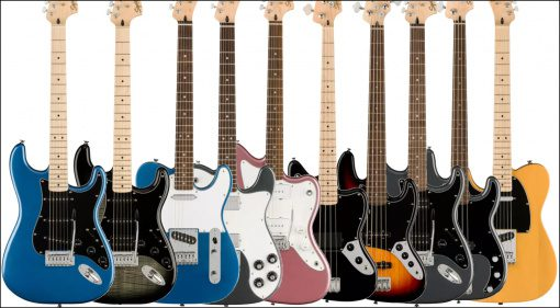 Fender Squier Affinity Serie 2021 Teaser