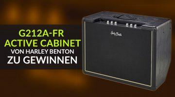 Gewinnspiel Harley Benton G212A-FR Active Cabinet
