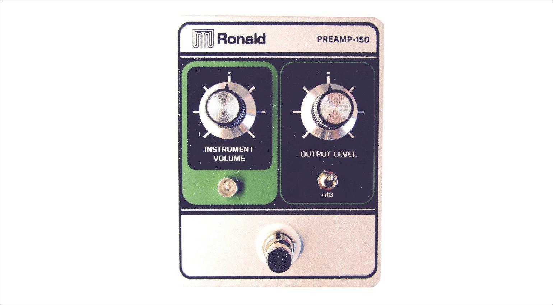 Gitarren Boutique Ronald Preamp 150 pedal