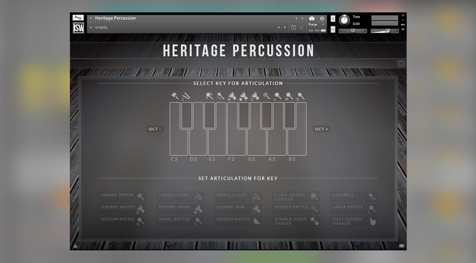Impact Soundworks Heritage Percussion