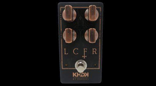 KHDK LCFR Nergal Behemoth Effekt Pedal Overdrive Front