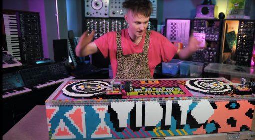LMNC LEGO DJ-Setup mit Turntable