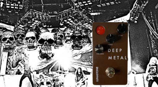 Lunastone Deep Metal Distortion Effekt Pedal Teaser