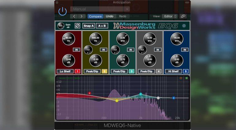 Massenburg Design Works MDWEQ6 Native