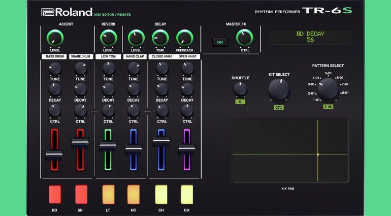 Momo Müller präsentiert Midi-Editor für den Roland TR-6S Rhythm Performer