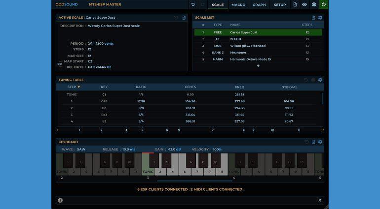 MTS-ESP SUITE: ODDSound und Aphex Twin präsentieren das ultimative Tuning Tool
